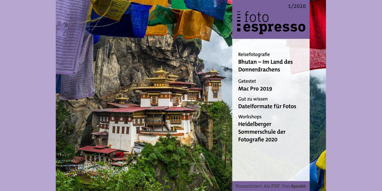 Gratis: fotoespresso 1/2020 jetzt herunterladen