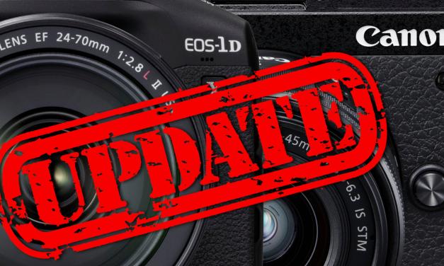 Für EOS-1D X Mark III und EOS M6 Mark II: Canon veröffentlicht Firmware-Updates