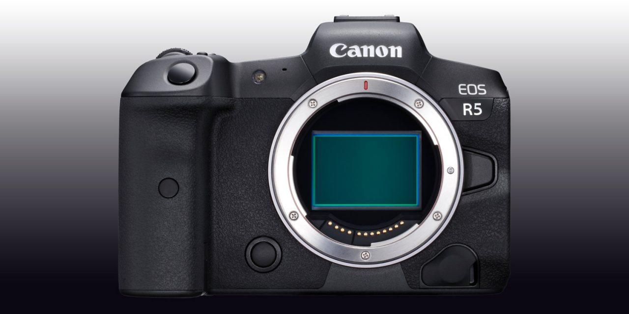 EOS R5: Canon lüftet den Schleier noch etwas mehr