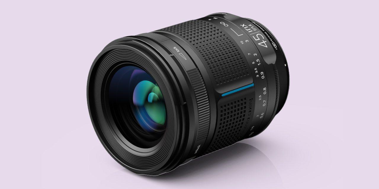 Neu für DSLR von Canon, Nikon und Pentax: Irix 45mm F/1.4