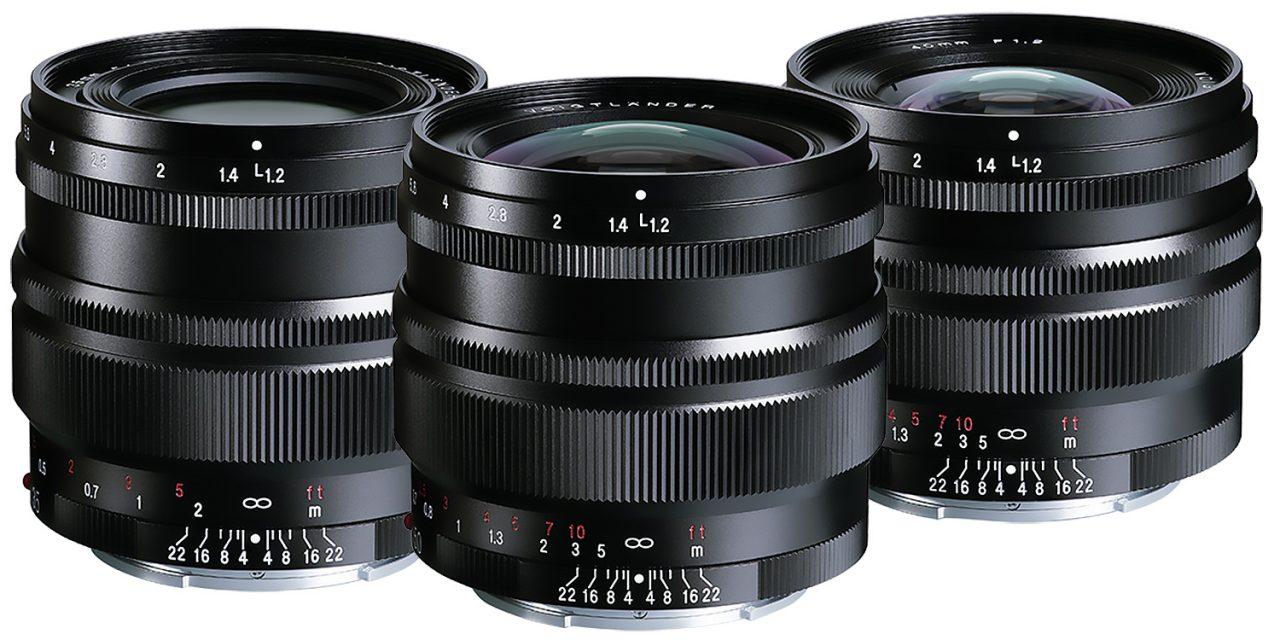 Voigtländer SE: Neue Objektiv-Familie mit drei Festbrennweiten für Sony E