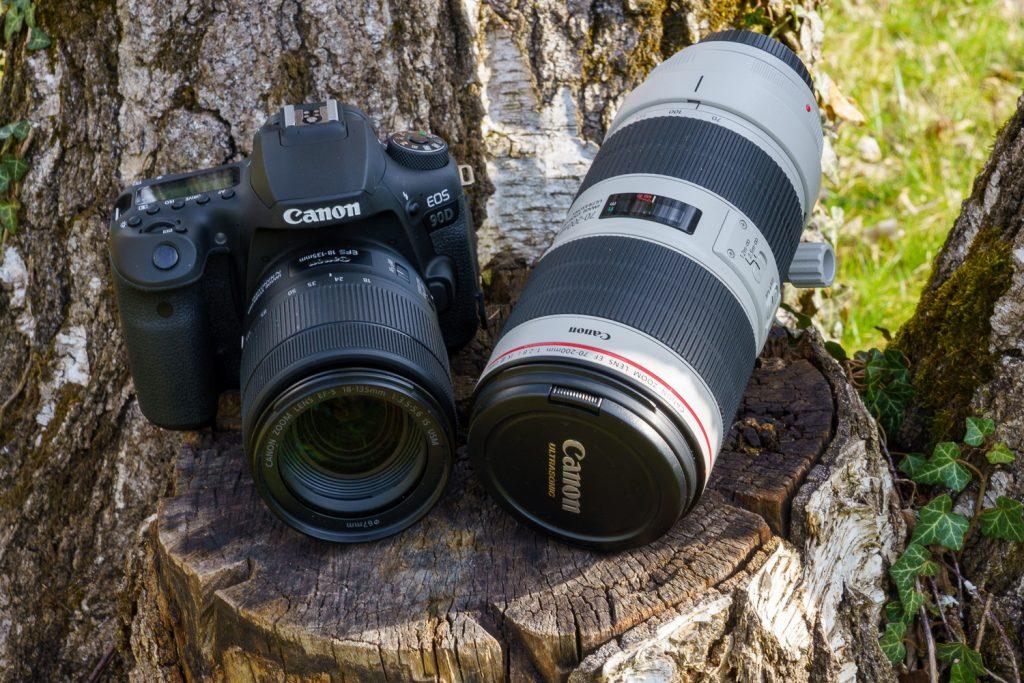 Canon EOS 90D Objektive