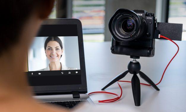 Fujifilm X Webcam für perfekte Video-Konferenzen