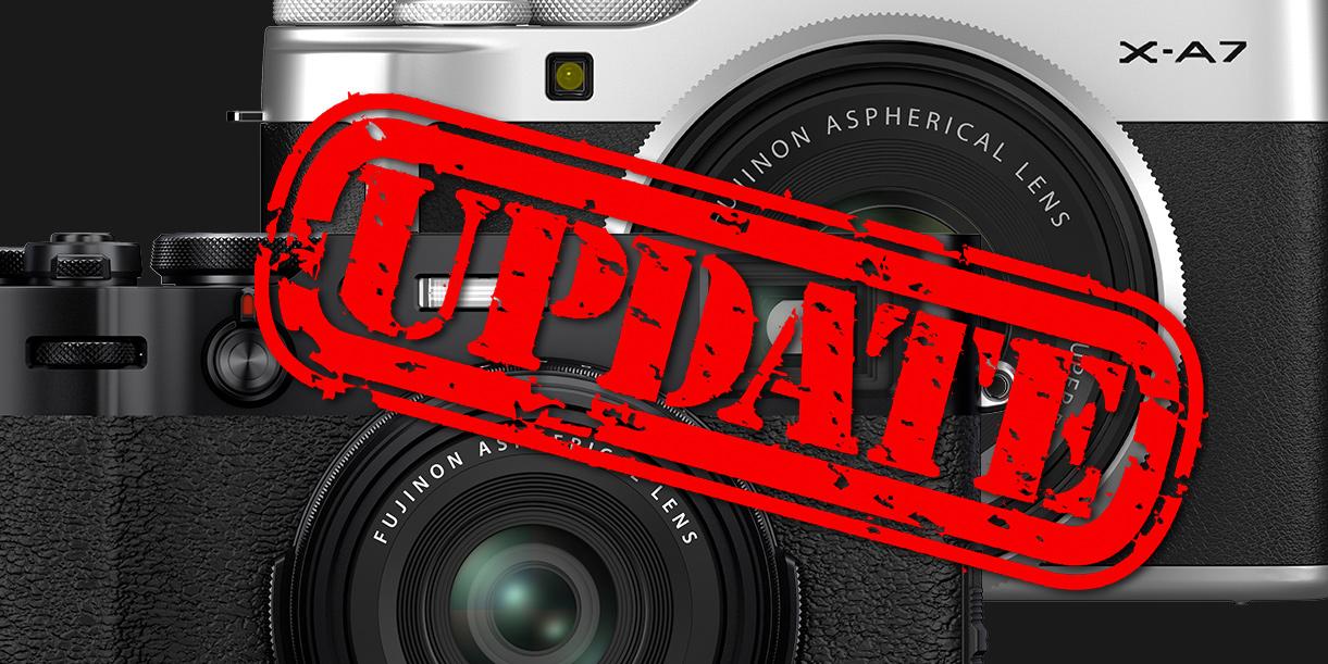 Fujifilm veröffentlicht Firmware-Update für X100V und X-A7
