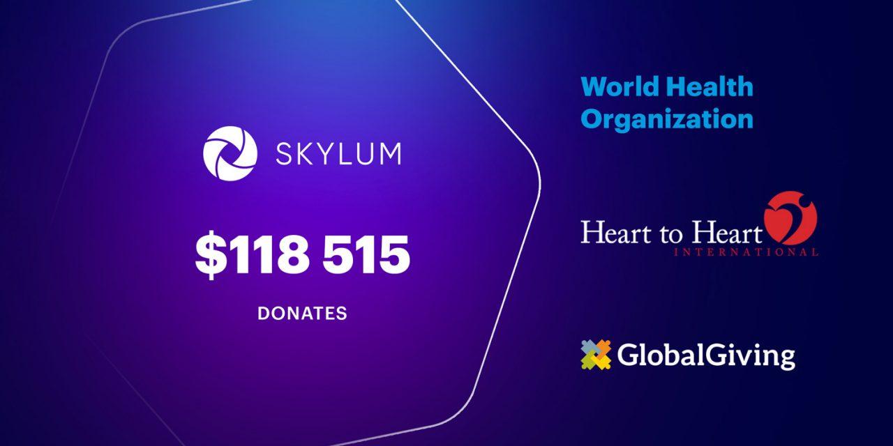 Skylum spendet fast 120.000 Dollar für Kampf gegen Corona