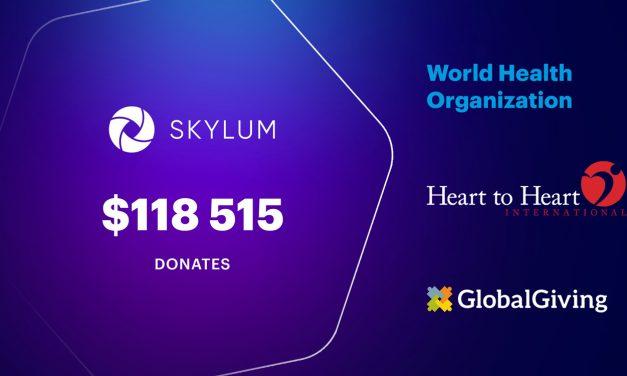 Skylum spendet fast 120.00 Dollar für Kampf gegen Corona