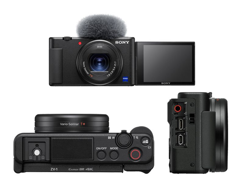Sony ZV-1 Ansichten