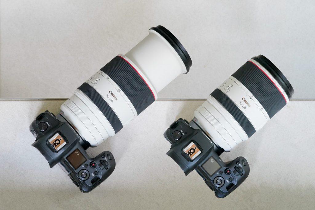 Canon-RF-70-200-Größenvergeich