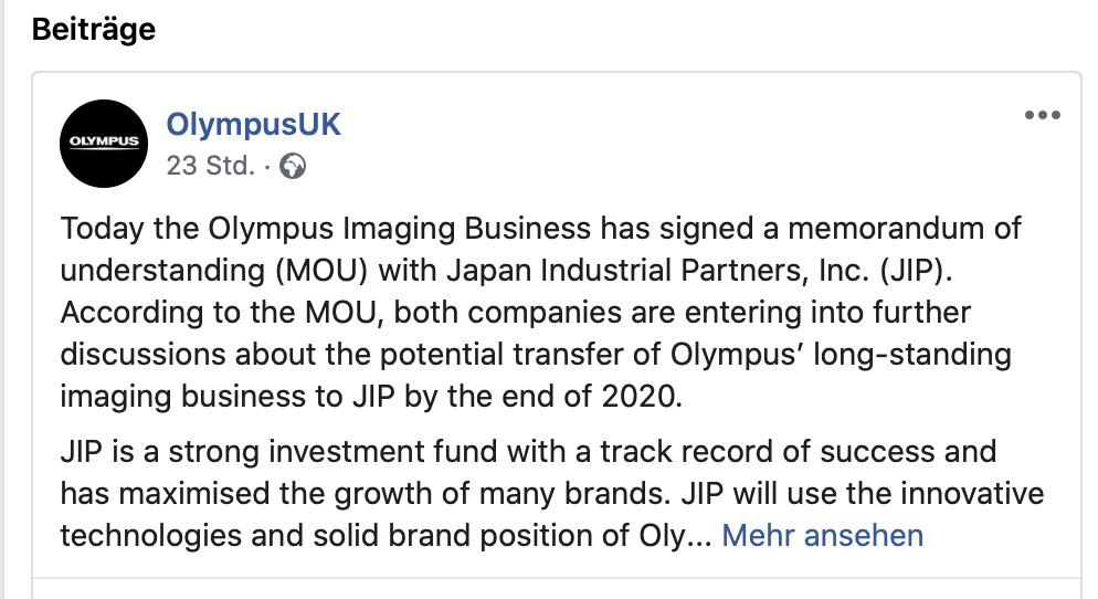 Facebook-Olympus-UK