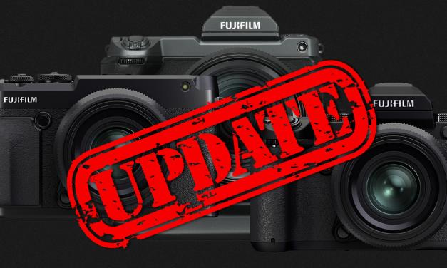 Fujifilm veröffentlicht umfangreiche Firmware-Updates für GFX-Kameras