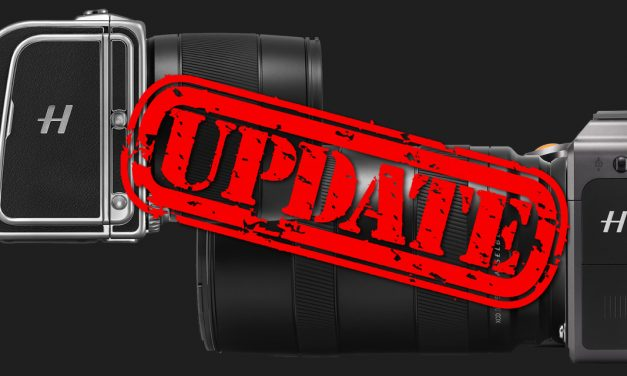 Firmware-Updates für Hasselblad X1D II 50C, CFV II 50C an der 907X Special Edition und XCD 45P veröffentlicht