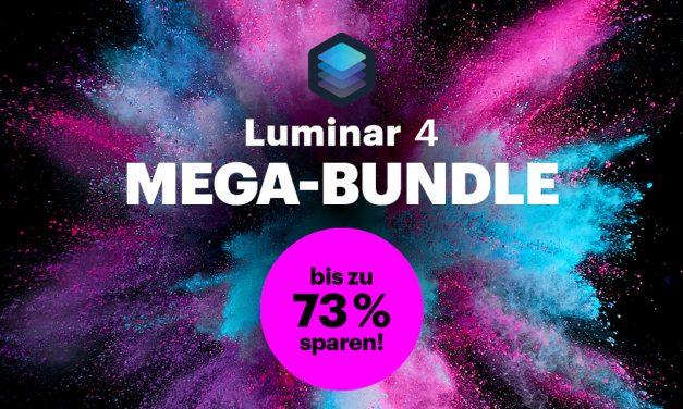 Sonderaktion +++ Luminar 4 im Mega-Bundle stark vergünstigt +++ Aktion verlängert