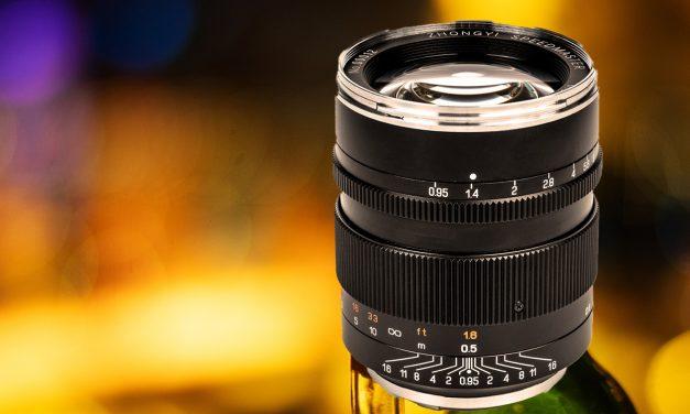 Neuer Lichtriese für Canon-DSLR: Mitakon Speedmaster 50mm f/0.95 Mark III