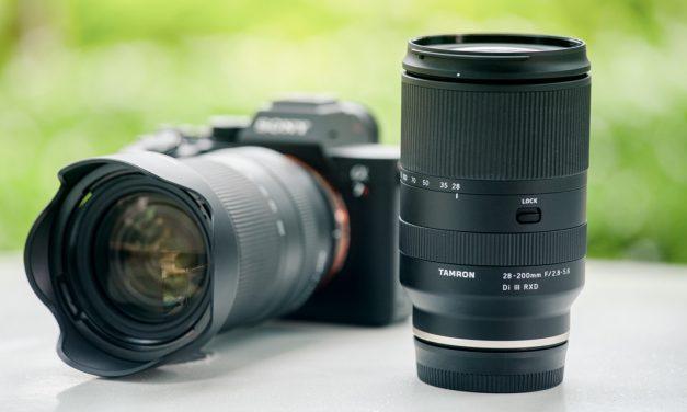 Tamron kündigt Reisezoom 28-200mm F/2.8-5.6 Di III RXD für Sony E an