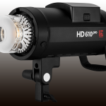 Neu von Jinbei: HD-610 Pro Studioblitz mit Akku und 600 Ws