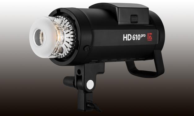 Neu von Jinbei: HD-610 Pro Studioblitz mit Akku und 600 Ws