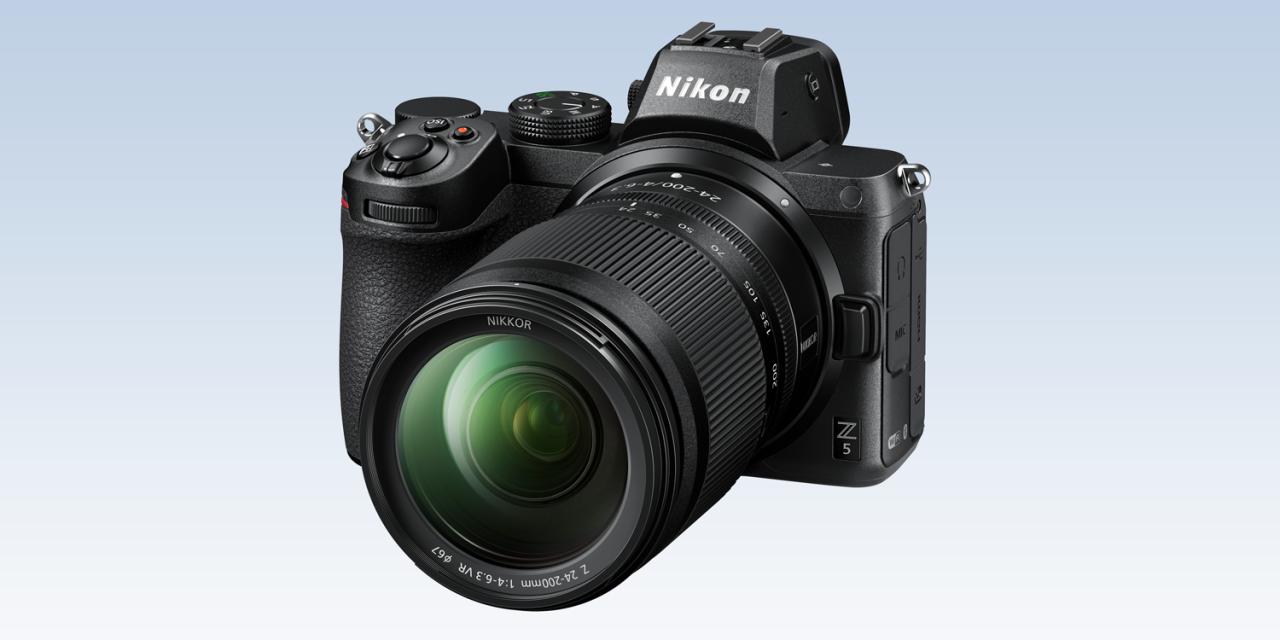 Neues von Nikon: Z5, Z 24-50mm F4-6.3, Z-Mount 1,4x- und 2x-Telekonverter