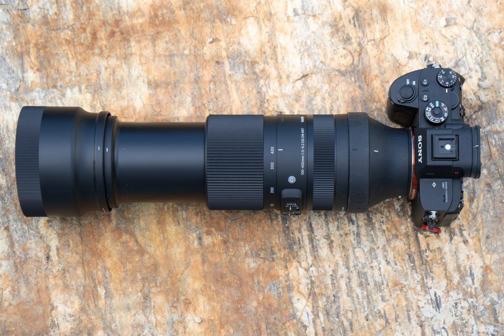 Sigma 100-400 bei 400mm
