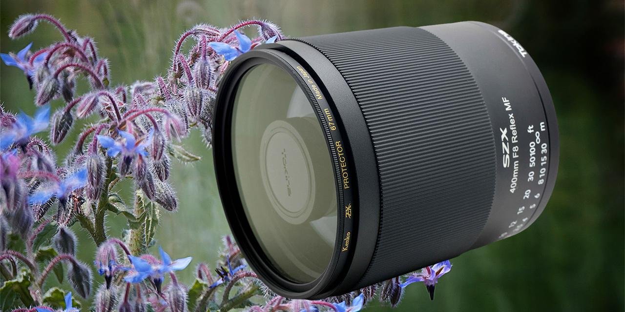 Tokina präsentiert Spiegeltele 400mm F8 Reflex MF