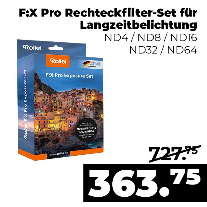 F:X Pro Langzeitbelichtung