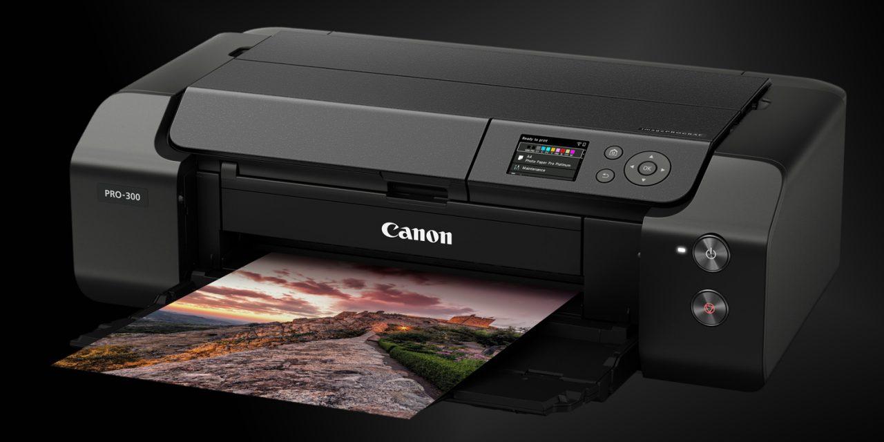 Canon präsentiert professionellen Fotodrucker imagePROGRAF PRO-300