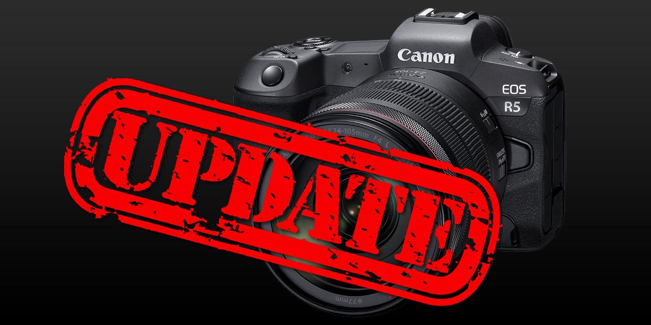 Canon EOS R5: Firmware-Update verbessert Temperatur-Management