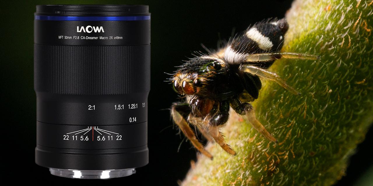 Neu: Laowa 50mm f/2,8 2X Ultra Macro APO für MFT