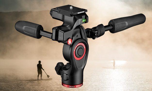 Manfrotto Befree 3 Way Live Advanced – Stativkit für Fotografen und Filmer