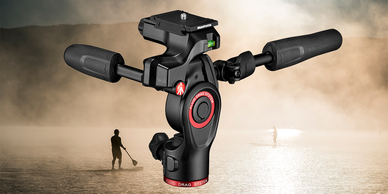Manfrotto Befree 3 Way Live Advanced – Stativkit für Fotografen und Filmer