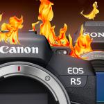 Überhitzen Canon EOS R5 und Sony Alpha 7S III beim Filmen?