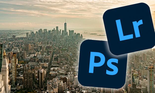 Panoramafotos zusammenfügen in Lightroom und Photoshop