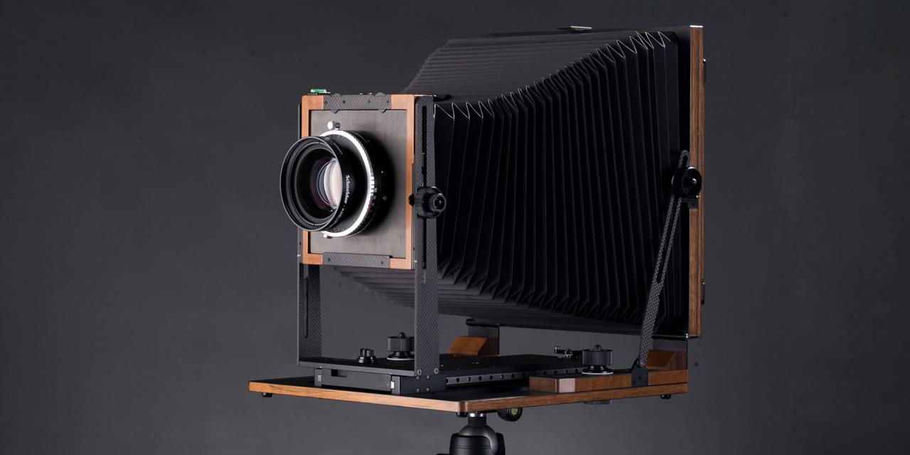 Alpinist X: leichte 8×10-Kamera für Hoch- und Querformat