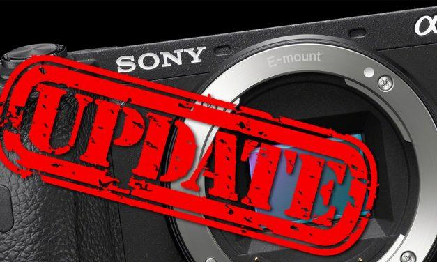 Sony veröffentlicht Firmware 1.10 für Alpha 6600
