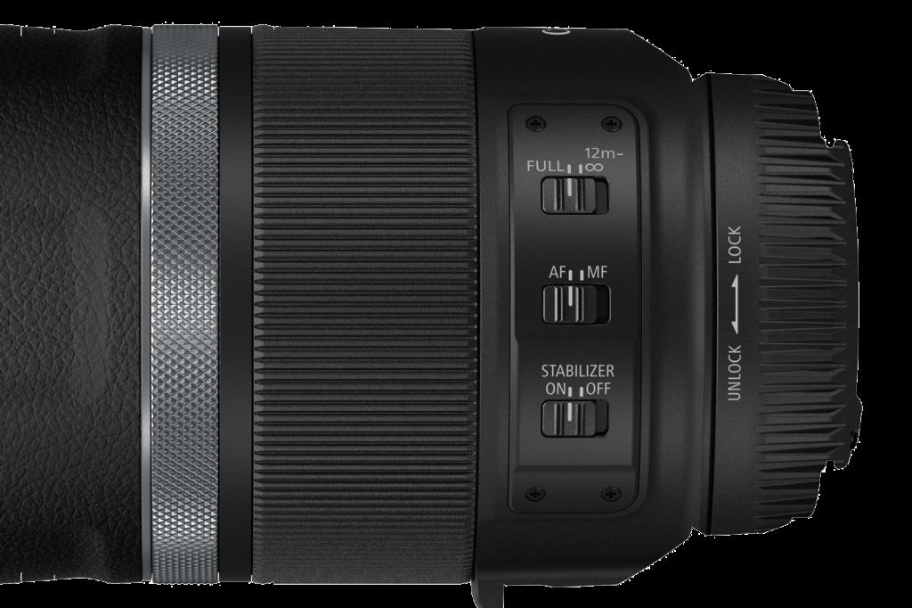 Canon-RF600-Bedienelemente