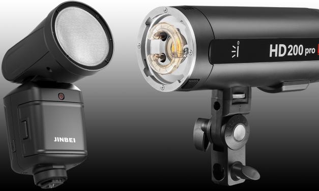 Neu von Jinbei: Systemblitzgerät HD-2 Pro und Studioblitz HD-200 Pro
