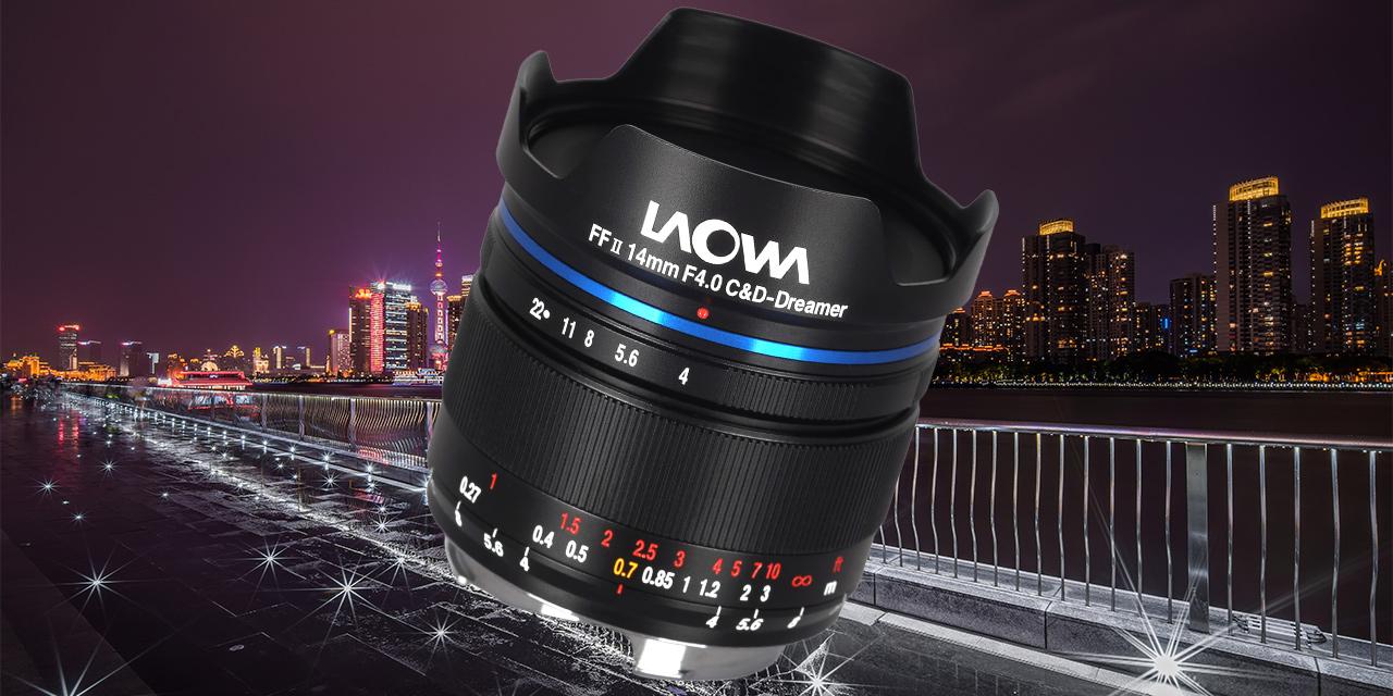Laowa 14mm f/4 FF RL Zero-D: Extrem kompaktes Superweitwinkel für Kleinbild