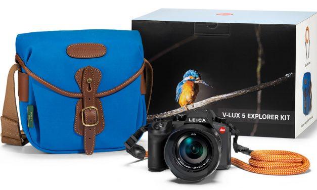 Leica bringt V-Lux 5 im Explorer Kit