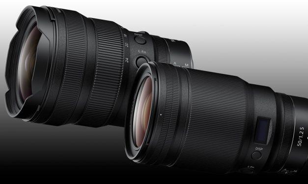 Für Nikon Spiegellose: Nikkor Z 50 mm 1:1,2 S und Nikkor Z 14–24 mm 1:2,8 S
