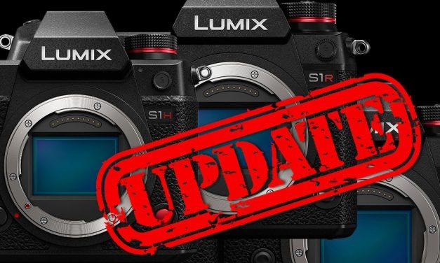 Panasonic kündigt Firmware-Updates für Lumix S1R, S1H und S1 an