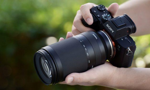 Tamron präsentiert 70-300mm F/4.5-6.3 Di III RXD für Sony E