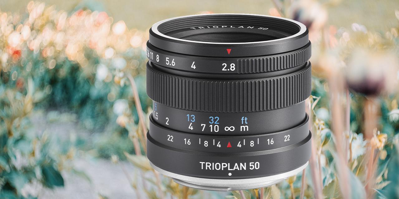 Meyer Optik Görlitz: Jetzt ist auch das Trioplan 50 f2.8 II fertig