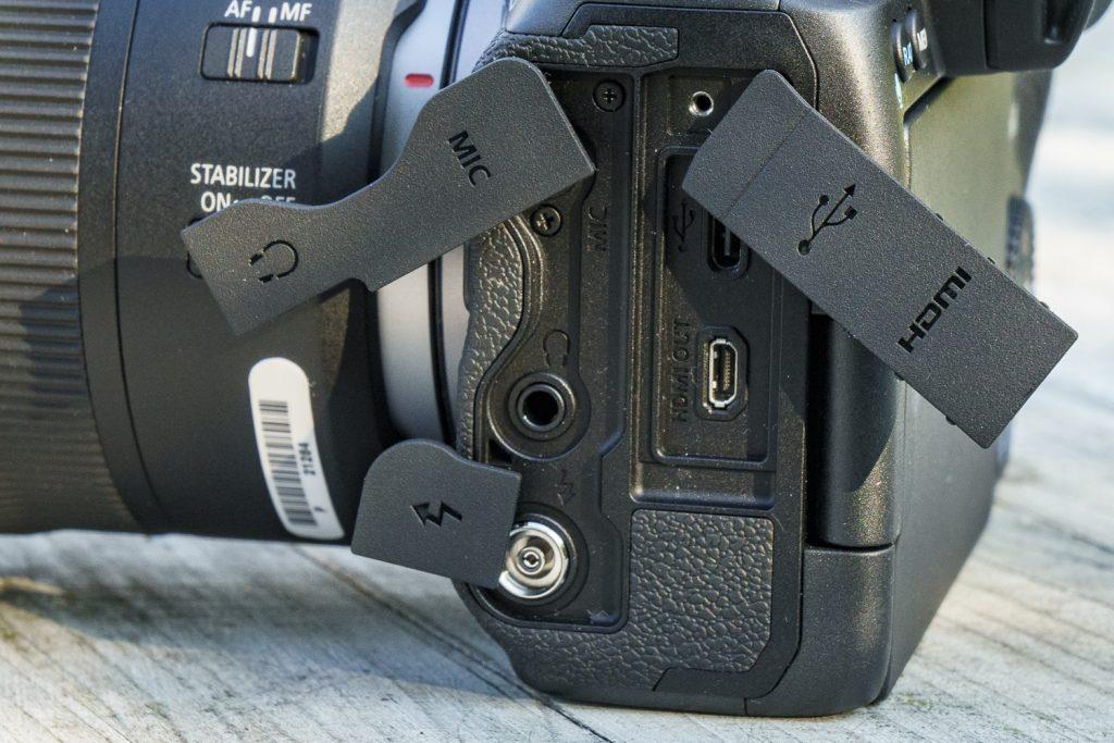 Canon EOS R5 Schnittstellen