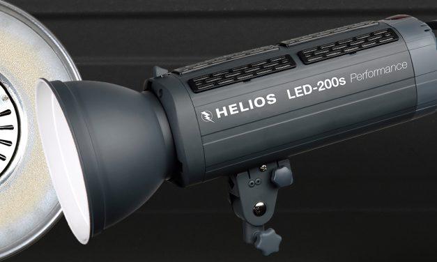 Helios LED-Studioleuchten in zwei Leistungsstufen vorgestellt