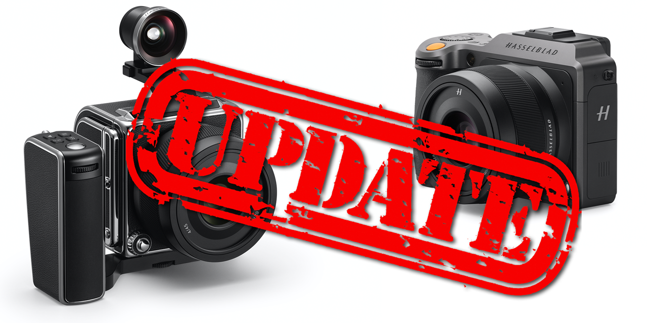 Hasselblad veröffentlicht Firmware 1.4.0 für X1D II 50C und 907X-Kameras