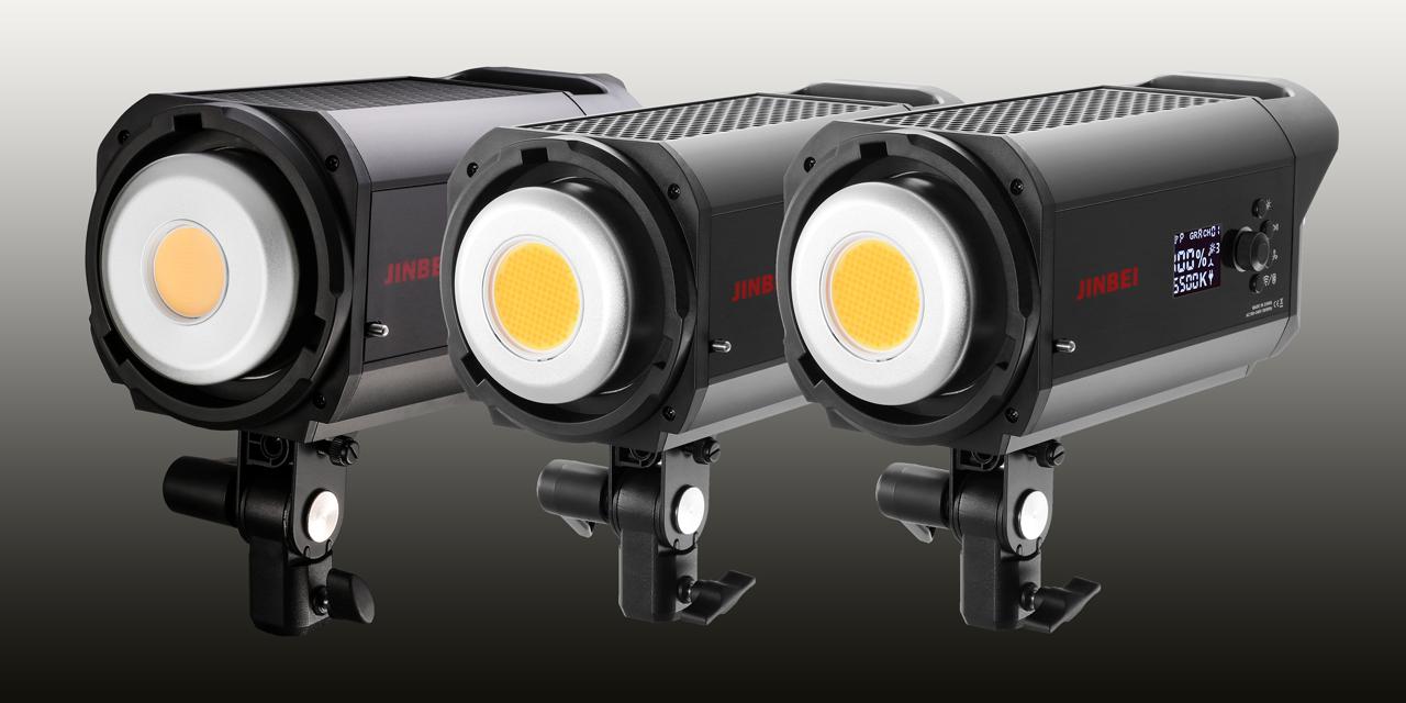 Neu von Jinbei: 3x LED-Dauerlicht für Foto- und Videoaufnahmen