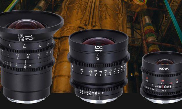 Laowa bringt drei Cine-Weitwinkelobjektive jetzt auch für Canon RF