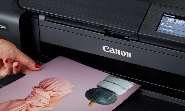 Neu von Canon: Fotodrucker Pixma Pro-200