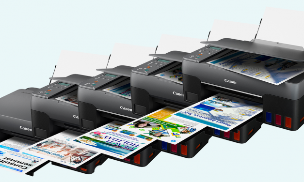 Neu von Canon: Fünf Pixma-MegaTank-Drucksysteme