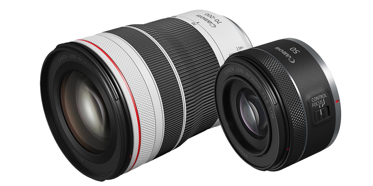 Neu von Canon für EOS R: RF 50mm F1.8 STM und RF 70-200mm F4L IS USM (aktualisiert)