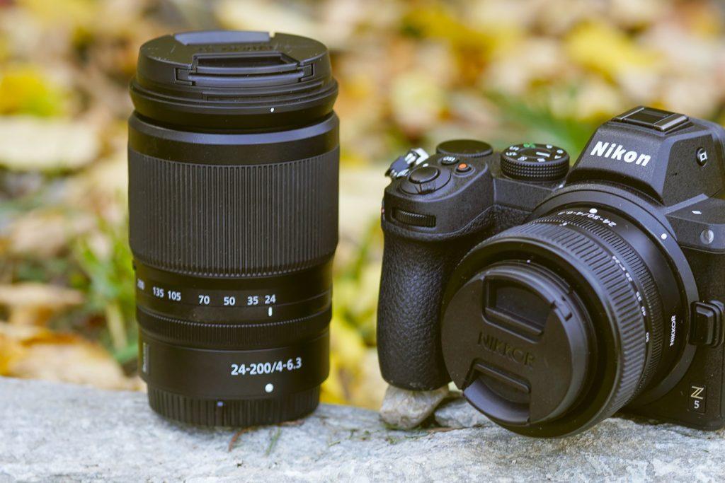 Nikon Z5 - 24-200mm